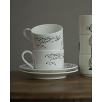 ANCHOR TEA CUP AND SAUCER
