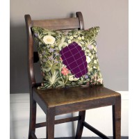 GRENADE CUSHION, MAUVE