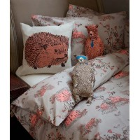 WOODLAND SINGLE DUVET AND PILLOWCASE SET