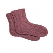 HAND KNITTED BED SOCKS