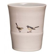 BIRD ON A WIRE BEAKER