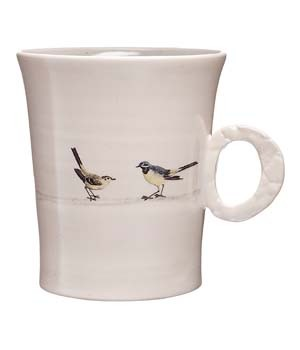 BIRD ON WIRE CUP