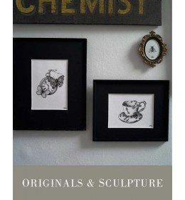 ORIGINALS & SCULPTURE