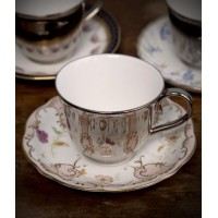 REFLECT TEA CUP AND SAUCER